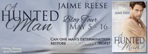 A Hunted Man Blog Tour Banner